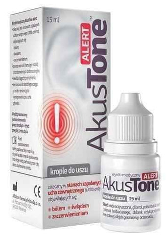 Akustone Alert drops 15ml