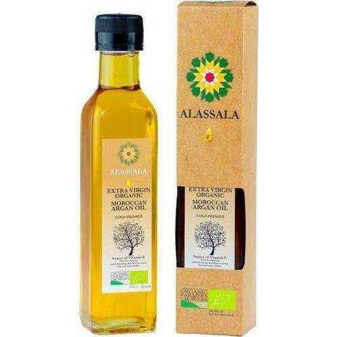 Alassala organic Moroccan Argan oil 100ml Essential Fatty Acids (EFA) UK