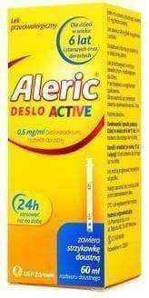 Aleric Deslo Active 0.5g / ml oral solution 60ml
