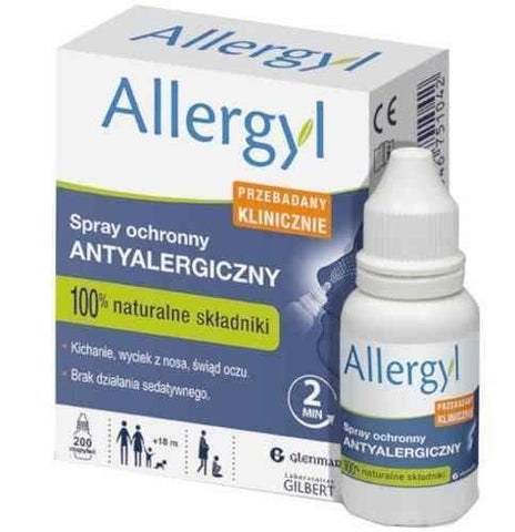 Allergyl protective spray x 200 doses