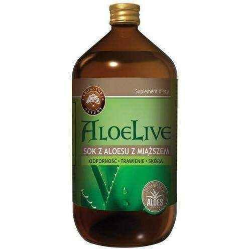 AloeLive aloe juice with pulp 1000ml UK