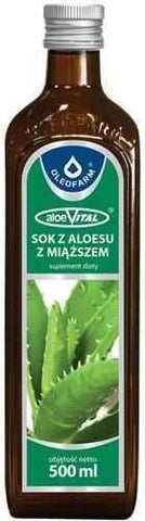 Aloe 100% aloe juice aloeVITAL 0.5l - ELIVERA UK, England, Britain, Review, Buy