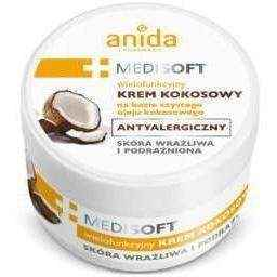 Anida Medisoft cream, coconut allergy 125ml, where to buy coconut cream