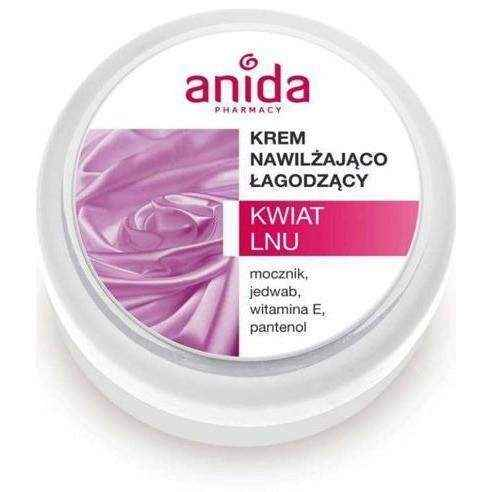 Anida Moisturizing soothing flax flower 125ml intensely nourishes the skin UK