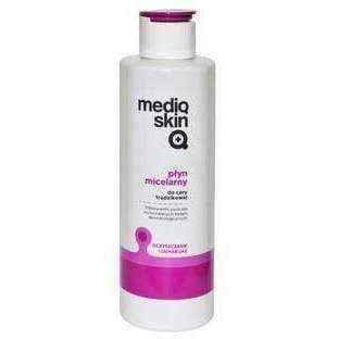 Anti acne gel, Mediqskin Micellar fluid 200ml - ELIVERA