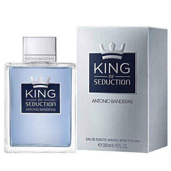Antonio Banderas King Of Seduction Eau de Toilette 200ml Spray.