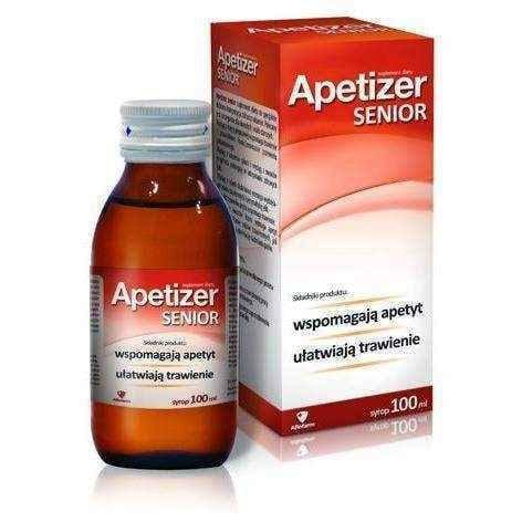 Apetizer Senior syrup 100ml loss of appetite - ELIVERA UK, England, Britain, Review, Buy