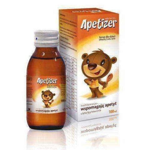 APETIZER syrup 100ml - ELIVERA UK, England, Britain, Review, Buy