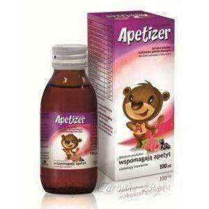 Apetizer syrup flavored with raspberry and blackcurrant 100ml