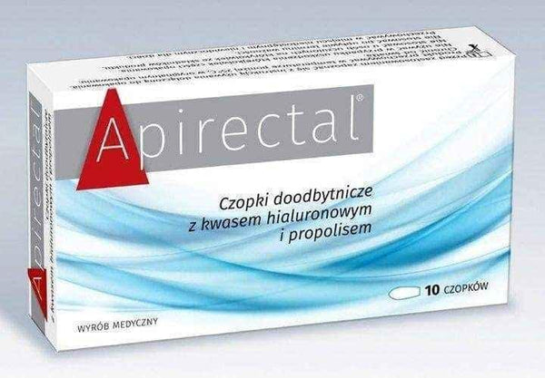 Apirectal rectal suppositories x 10 pieces - ELIVERA