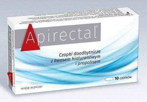 Apirectal rectal suppositories x 10 pieces UK