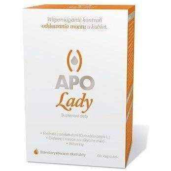 Apo-Lady x 60 capsules, frequent urination in women