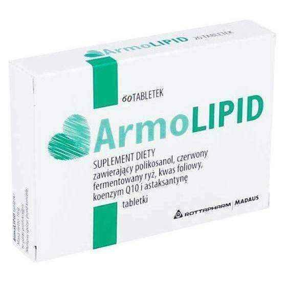 ArmoLipid x 60 tablets - ELIVERA