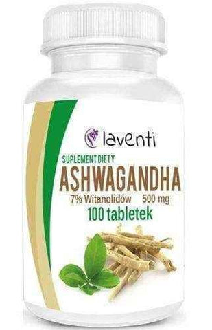 Ashwagandha 500mg x 100 tablets UK