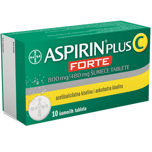 Aspirin C Forte x 10 effervescent tablets UK