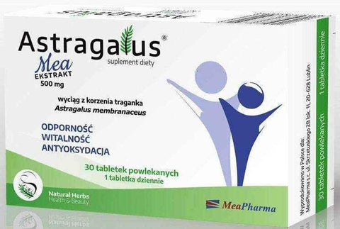 Astragalus Mea Extract x 30 tablets UK