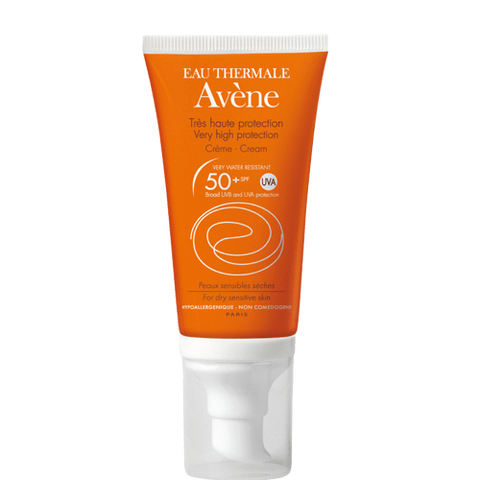Avene Cream SPF 50+ UVA 50ml, sun cream