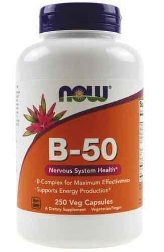 B-50 vitamins of group B x 250 capsules