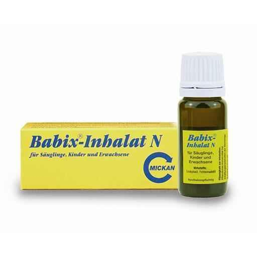 BABIX Inhalat N 10 ml treatment of diseases of the respiratory tract