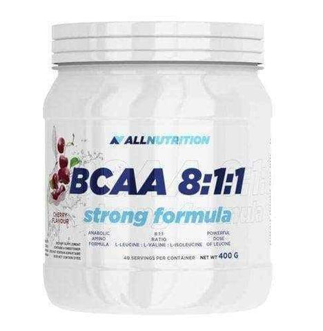 BCAA 8: 1: 1 Strong formula lemon 400g - ELIVERA