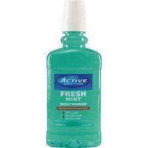 BEAUTY FORMULAS ACTIVE Mouthwash fresh mint 500ml