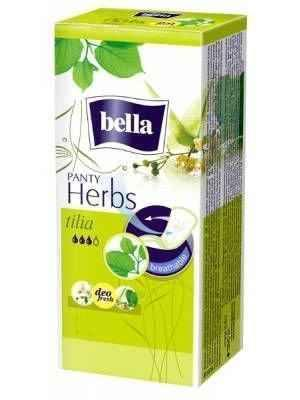 BELLA Herbs Tilia sanitary pads x 20 pieces