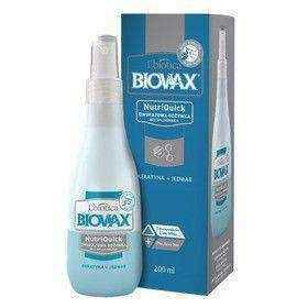 BIOVAX Biphasic conditioner without rinsing + Keratin Silk 200ml