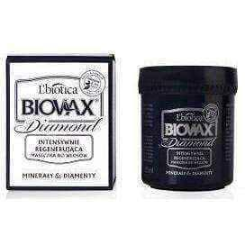 BIOVAX Glamor Diamond Minerals & Diamonds mask for all hair types 125ml