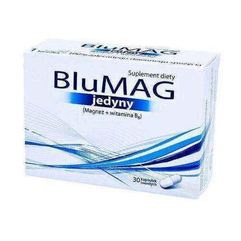 BLUMAG ONLY x 30 capsules, magnesium oxide