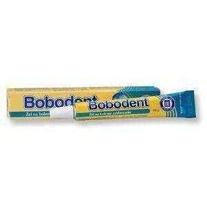 BOBODENT gel 10g inflammation of the gums, gum disease, bleeding gums