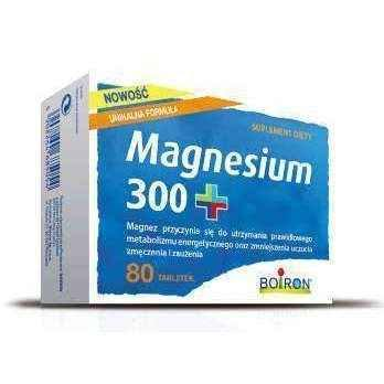 BOIRON Magnesium 300+ 0.5g × 80 tablets