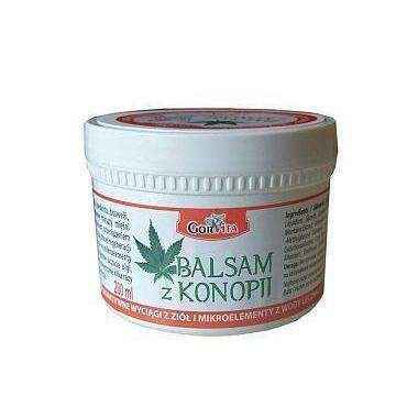Balsam hemp 200ml, joint pain relief, sports injury treatment