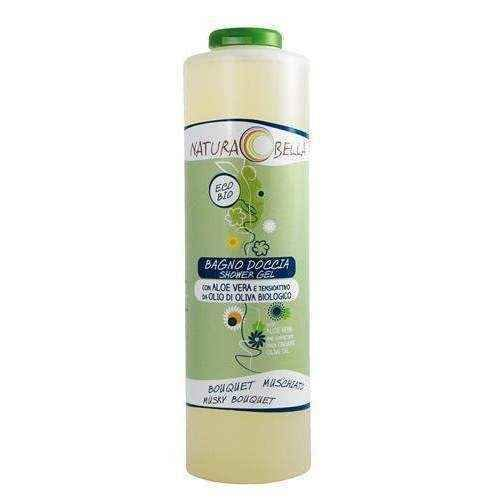 Bath gel and shower with aloe scent of musky 500ml