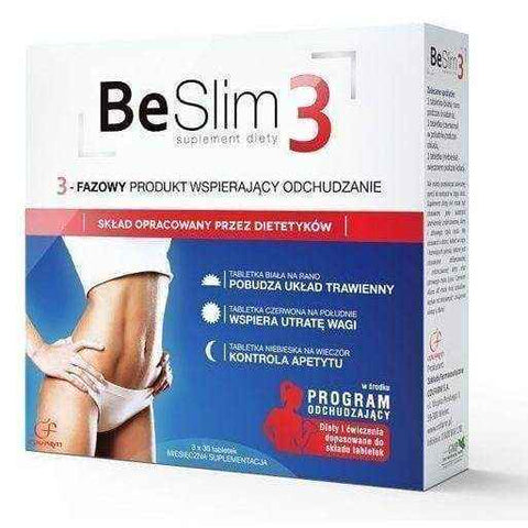 Be Slim 3-Phase x 90 tablets, best way to lose weight fast UK