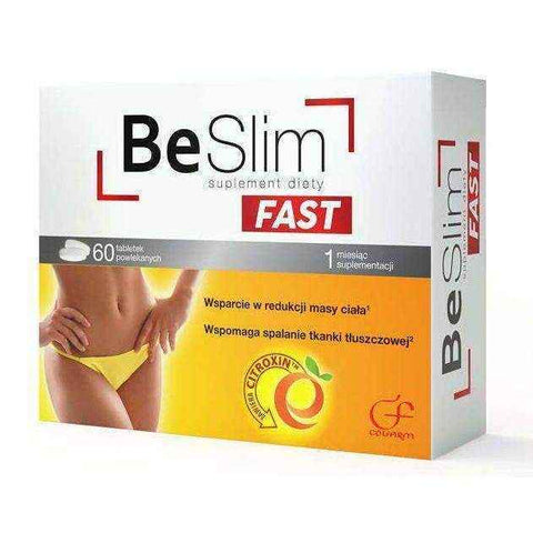 Be Slim Fast x 60 tablets, the best way to lose weight fast