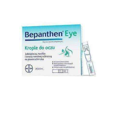 Bepanthen EYE eye drops 0.5 ml x 10 pcs UK