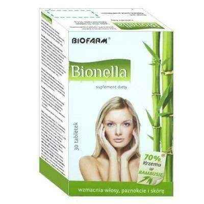 Bianella x 30 tablets, hair supplement, skin nutrition, nail disorders