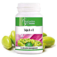 BigGarden Soy A + E x 60 tablets, woman in menopause UK