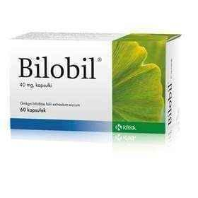 Bilobil 40mg x 60 tablets, memory loss UK