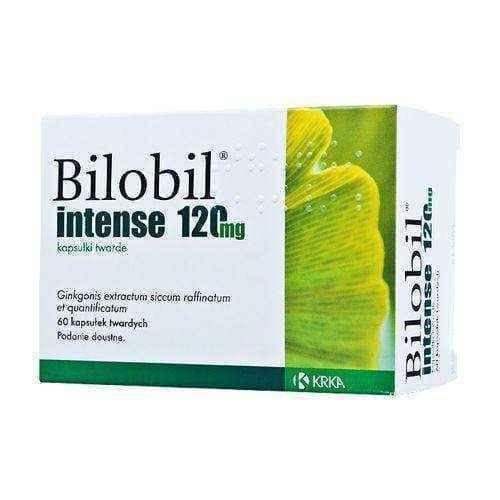 Bilobil Intense x 60 capsules Ginkgo Biloba  Well Being immunotherapy.