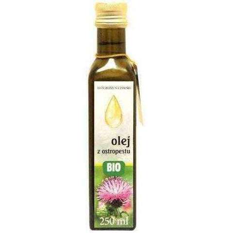 Bio Milk Thistle 250ml, milk thistle seed oil