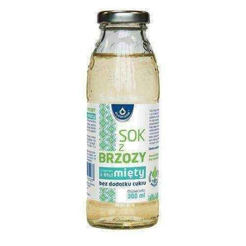 Birch juice with mint 300ml UK