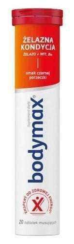Bodymax Iron Condition x 20 effervescent tablets