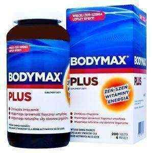 Bodymax Plus x 200 tablets, vitamin
