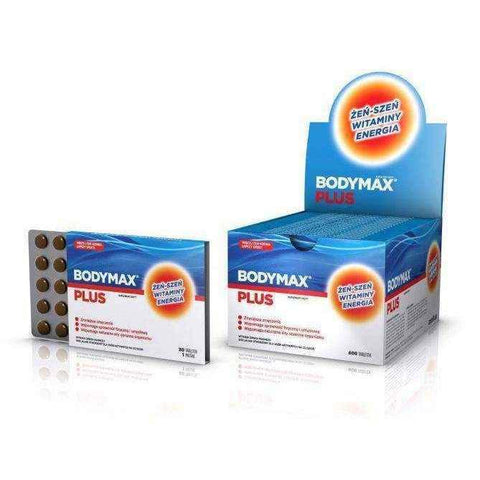 Bodymax Plus x 600 tablets UK