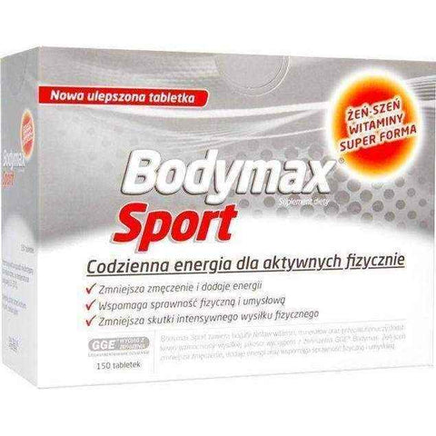Bodymax Sport x 150 tablets, vitamins