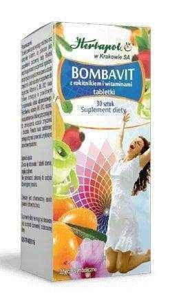 Bombavit with sea buckthorn and vitamin C x 30 tablets