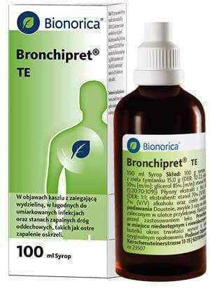 Bronchipret syrup TE 100ml.