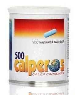CALPEROS 500 x 200 capsules, prevent unwanted muscle spasms