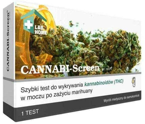 CANNABI-Screen test for THC x 1 piece